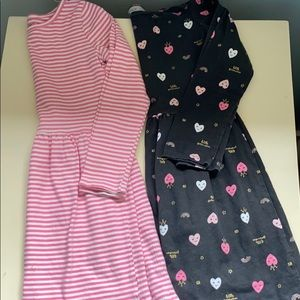 Two Carter's Dresses- Size 6